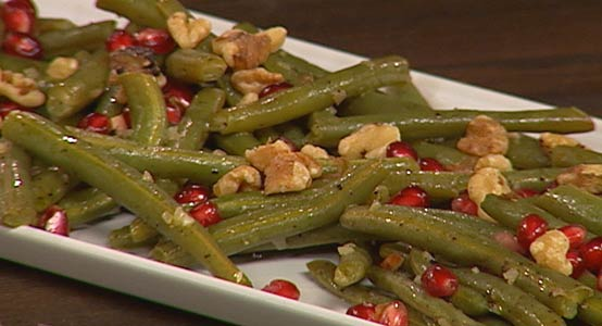 green-beans-pomegranate-salad