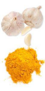 turmeric-powder-garlic