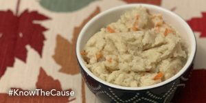 Cauliflower Mash with Carrots