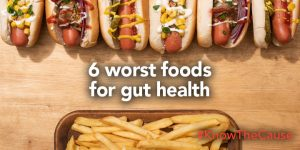 Worst Foods For Gut Health