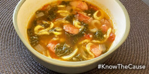 Andouille Sausage and Kale Soup