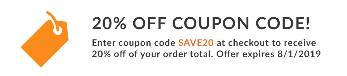 Coupon Code SAVE20